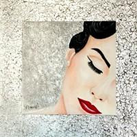 GLAMOUR Nº 3, a painting by Carmen Junyent