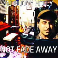 "DJ Buddy Holly ""Not Fade Away"" - created by David Charles Kramer, a print by davidcharleskramer"