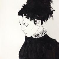 Madame, a painting by Dominique Dève