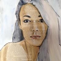 Words, a painting by Dominique Dève