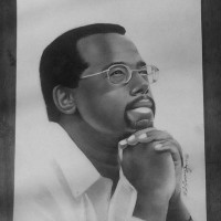 Drawing of Ben Carson, a drawing by elsamsonieartz