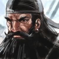 Blackbeard, a painting by Ovi