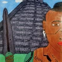Mayan Warrior , a drawing by Real.ity_Art