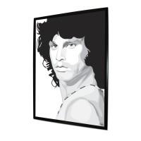 Jim Morrison Artwork, a print by richardyates39