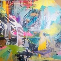 AlgorithmS, a painting by StanleyBellArtist
