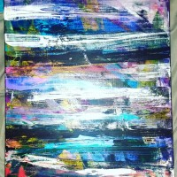 Abstract , a painting by Theweirdo09