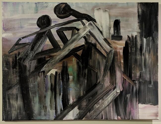 Nightlife , a painting by Angela Grissom ART