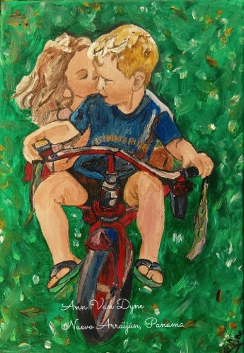 Ultimate Ride, a painting by Ann Clarissa