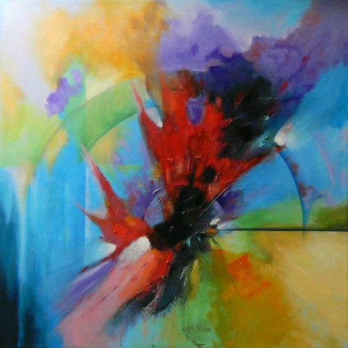 Creative Dimensions, a painting by Arie Vanderwyst
