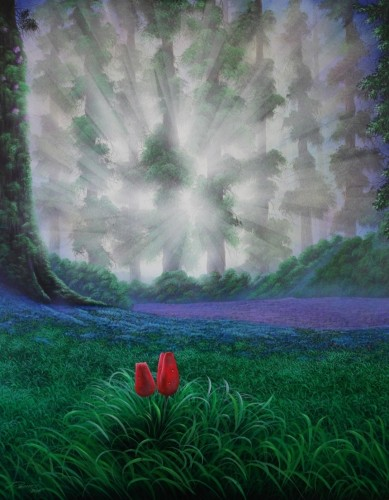 THE AWAKENING OF A DREAM, a painting by art-ramce
