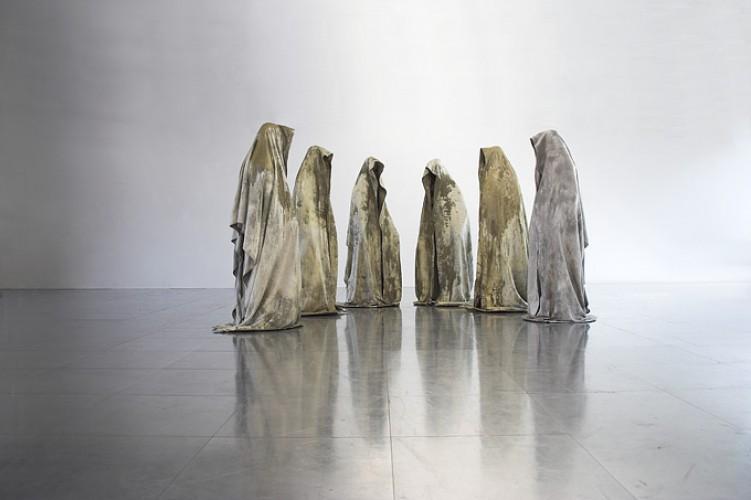 Guardians of Time by Manfred Kielnhofer, a sculpture by contemporaryart