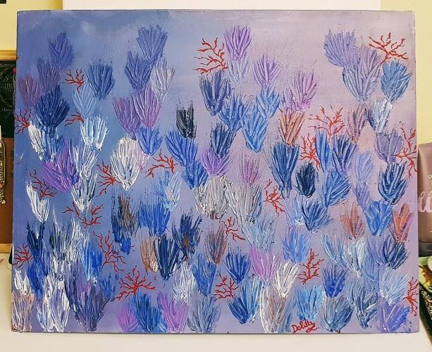 Barriera corallina., a painting by DalilaLiardo