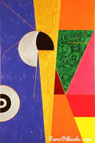 Creation, a painting by ewaolkuska