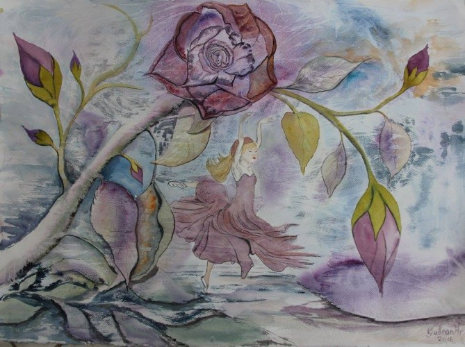 Fairy, a painting by Gallery Gudrun