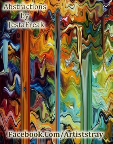 Color Melt, a print by JestaFreak