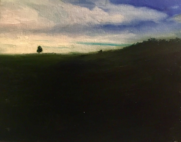 The valley , a painting by LucasTelan