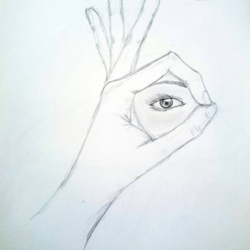 Perfect Sight , a drawing by Marim