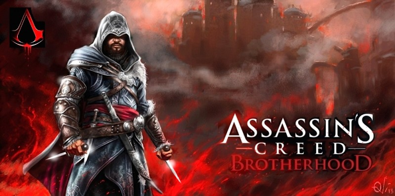 Assassins creed, a painting by Ovi