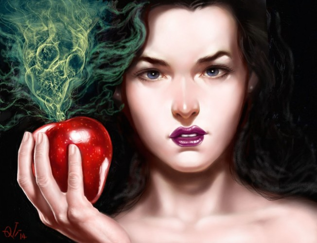 Snow White, a painting by Ovi