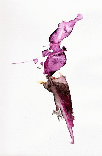 Pink Shot, a Painting by Paul Maguire