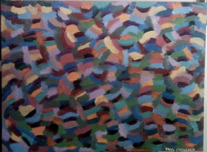 Autumn Leaves, a painting by paulys art