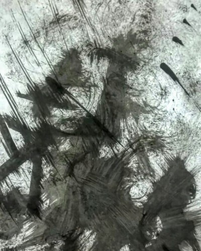 ...wind above ( ...viento arriba), a drawing by RamosCordobaok