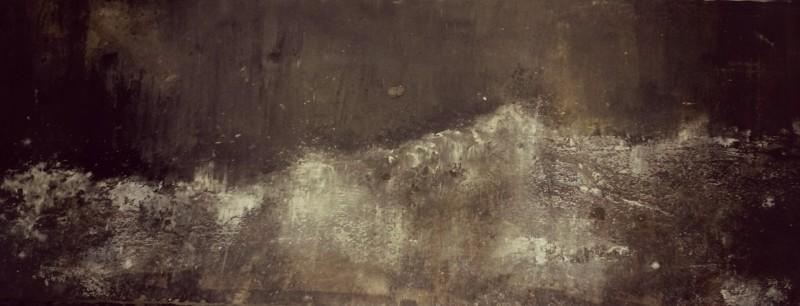 paesaggio, a painting by spazio_omniae