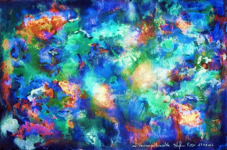 Joie des couleurs, a painting by Stéphane Rossi
