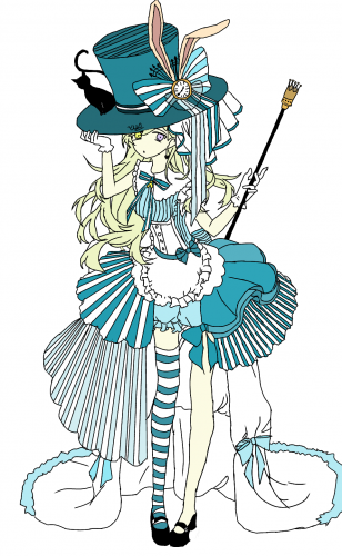 Alice in the Wonderland -Yun, a drawing by Yun.ink