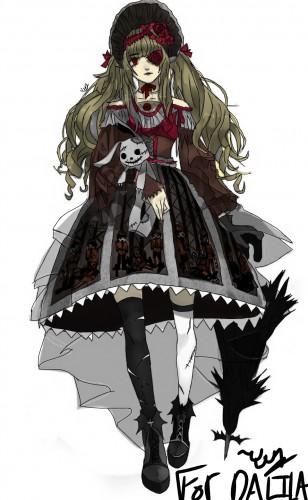 Goth Girl -Yun, a drawing by Yun.ink