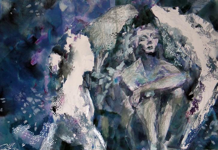Thinker, a painting by ZoyaTemmerman