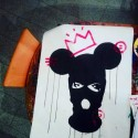 HEART OF A VANDAL - BASQUIAT , a painting by 0R13