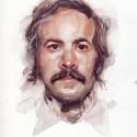Portrait - Joe, a drawing by anastasialisich