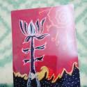 Flor de loto, a print by Aranyans