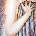 GLAMOUR Nº 1, a painting by Carmen Junyent