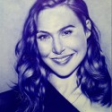 Gal Gadot, a drawing by Heyadams_art