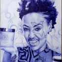 Nzuri, a drawing by Heyadams_art