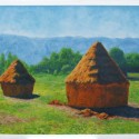 Monet's Haystacks, a painting by Hobbit25