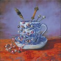Age of Elegance 1, a painting by Lynne Henderson