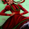 Ballet Folklorico, a painting by mikekimart
