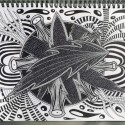 Trippy Flow, a drawing by Real.ity_Art
