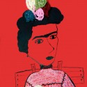 frida, a painting by samaneh atef