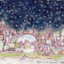 Présence de l'au delà, a drawing by Stéphane Rossi