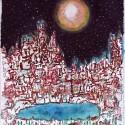 Réveil par le rêve, a drawing by Stéphane Rossi