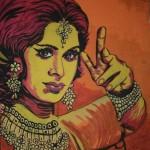 Chudeyl, a painting by Akshay raj Mysore