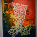 2, a painting by Ashaker
