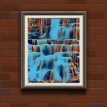 Cascade, a painting by A.zakaria_mami