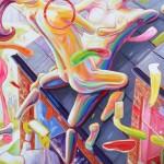 Top, a painting by John Hogan
