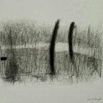 Stream of Thought, a drawing by John McLaughlin