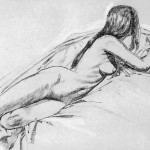Study, a drawing by Ovi